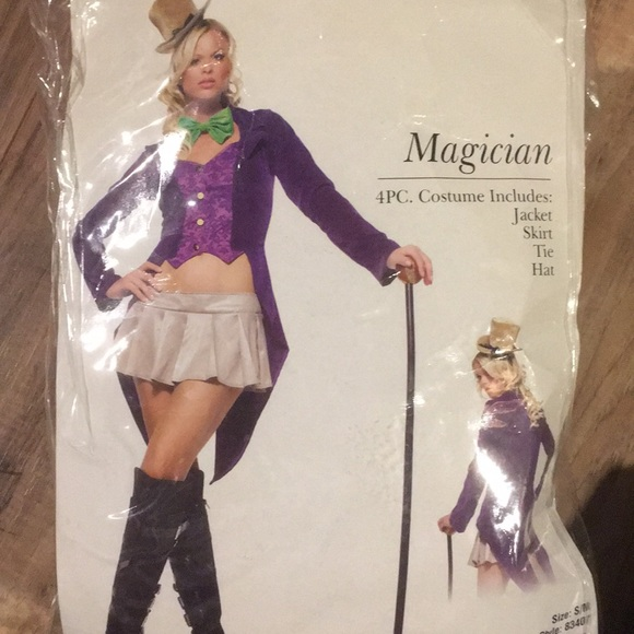 Leg Avenue magician or Willy wonka costume